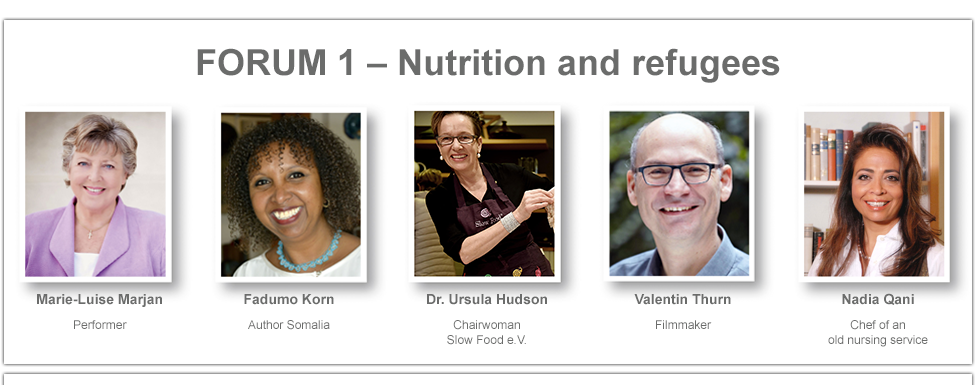 Speakers Forum 1 - Nutrition