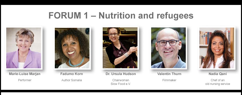 Speakers Forum 1 - Nutrition