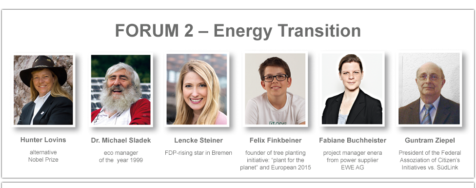 Speakers Forum 2 - Energy Transition