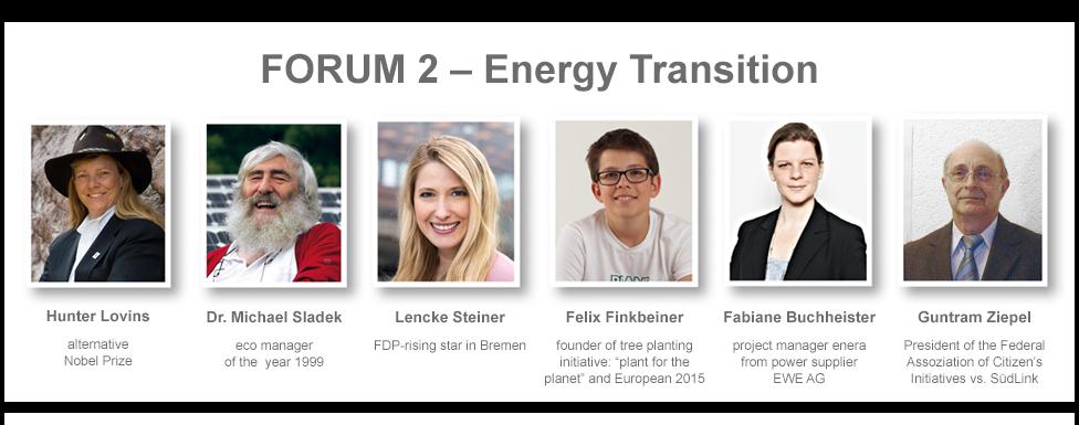 Speakers Forum 2 - Energy Transition