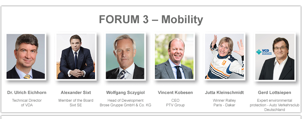 Speakers Forum 3 - Mobility