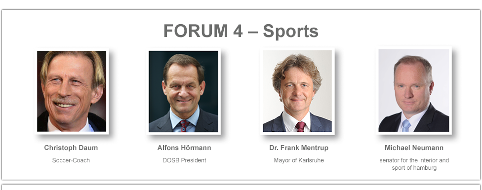 Speakers Forum 4 - Sports